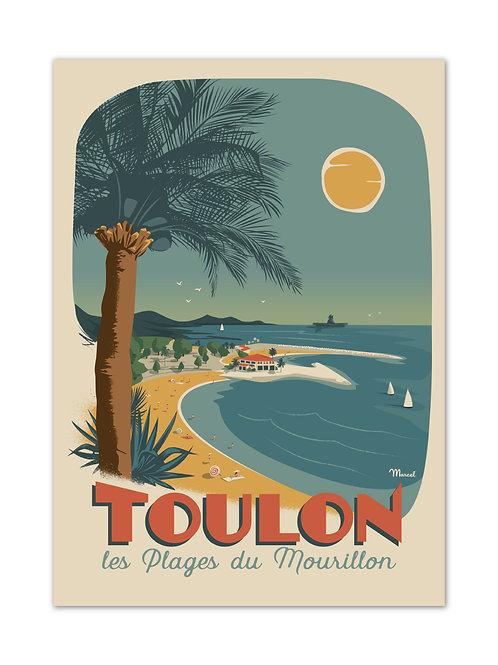 Affiche Toulon - Marcel Travel