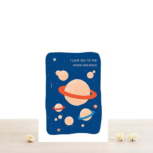Carte postale Aimé - Atelier Bobbie