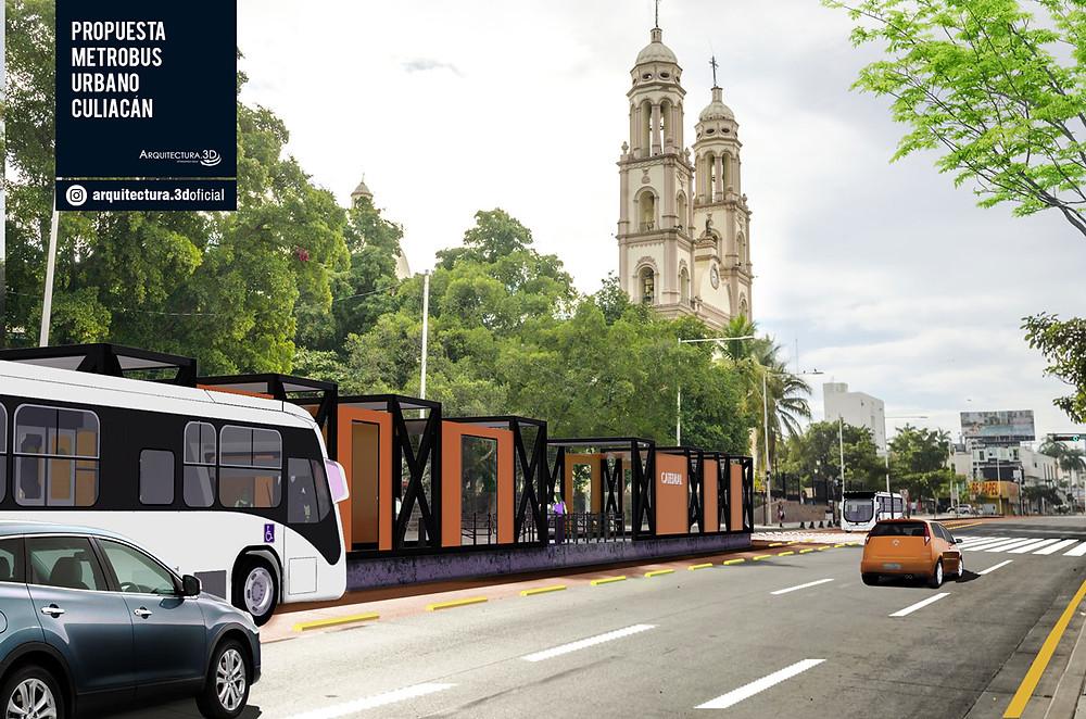 Propuesta Metrobus Culiacan