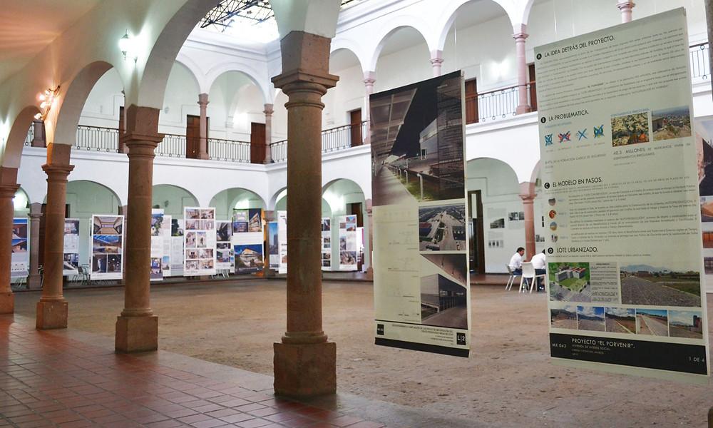Exposición XV Bienal Arquitectura Mexicana, MASIN, Culiacán, Sinaloa
