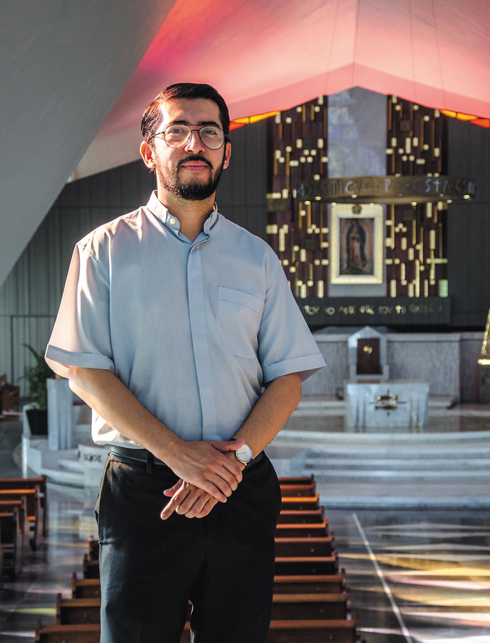 Pbro. Arq.  Christian Emiliano Gerardo Cortez