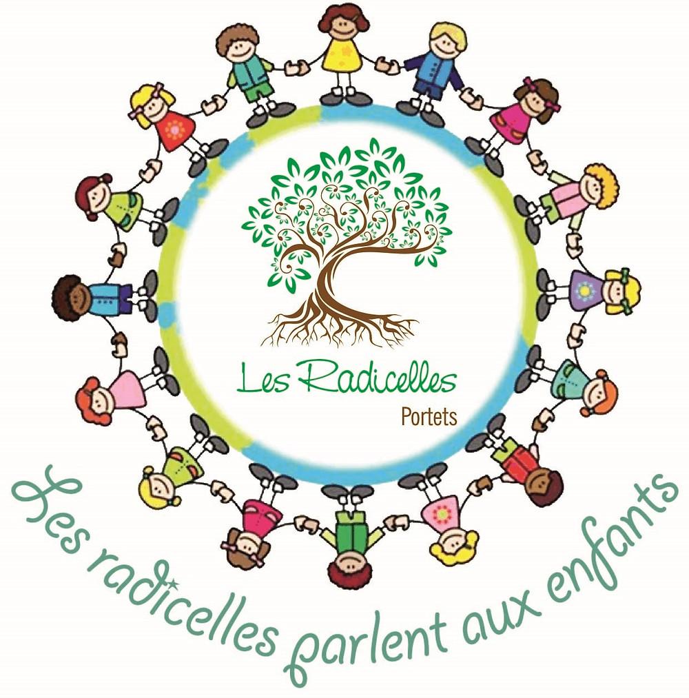 logo radicelles parlent aux enfants