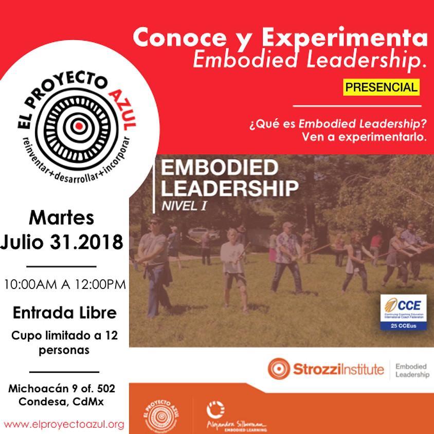 Charla informativa presencial: Embodied Leadership, Nivel 1