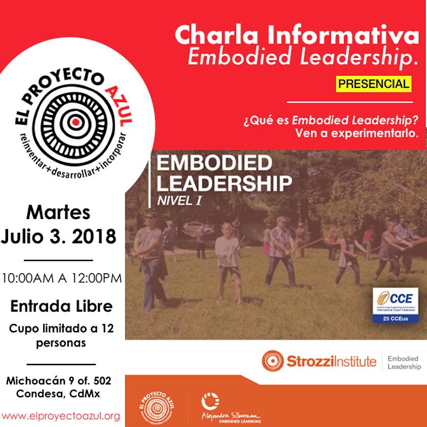 "Charla Informativa ""Embodied Leadership"" presencial"