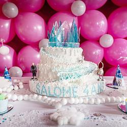 Le gâteau d'anniversaire de Salomé