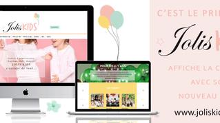 JOLIS KIDS fête le printemps avec son nouveau site