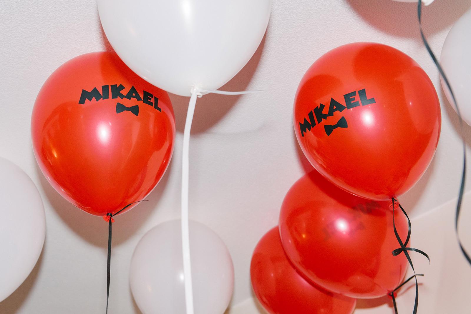 Ls ballons d'anniversaire de Mikael