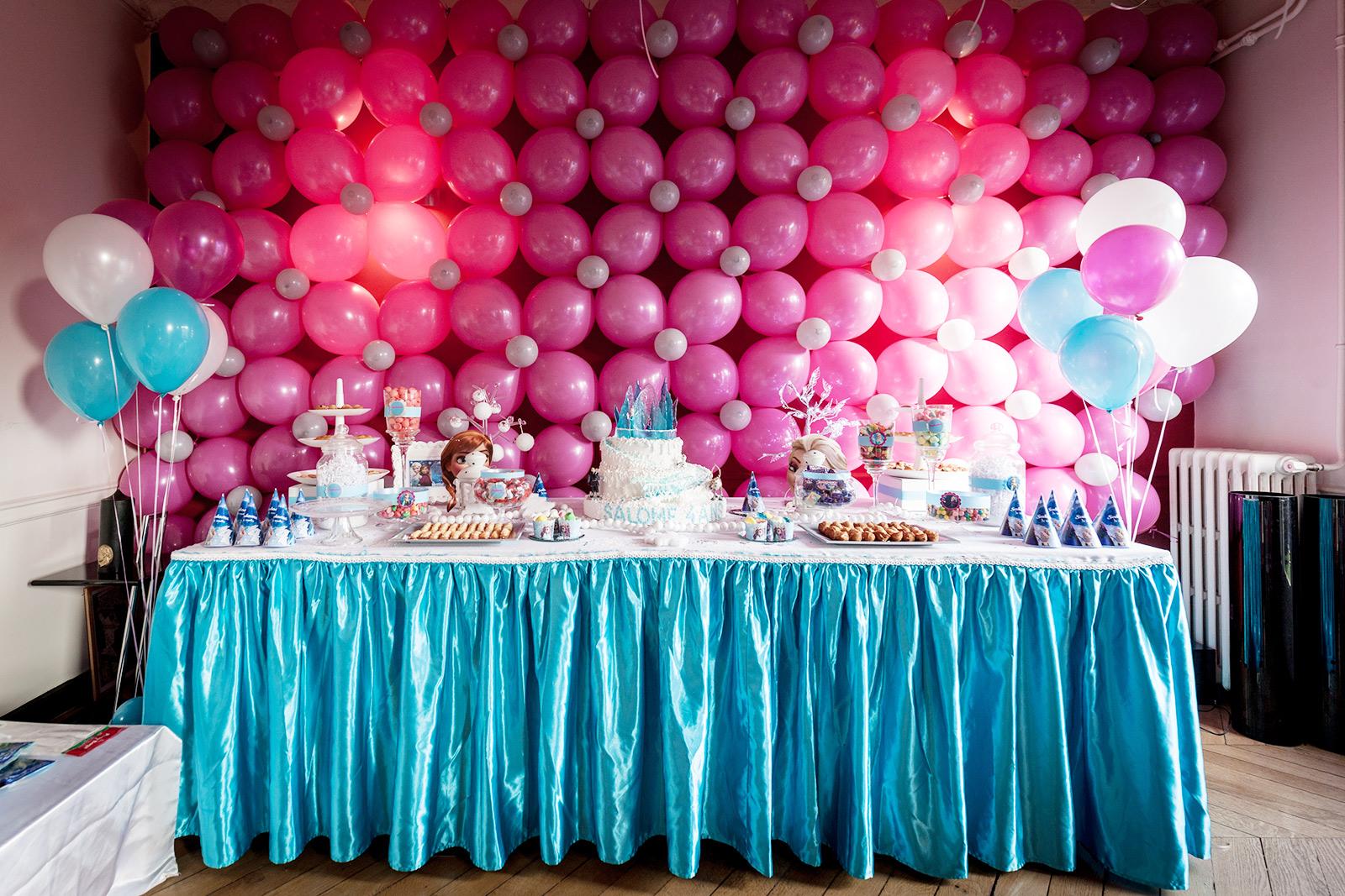 Joli buffet d'anniversaire