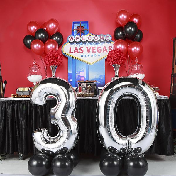Buffet pour un anniversaire adulte