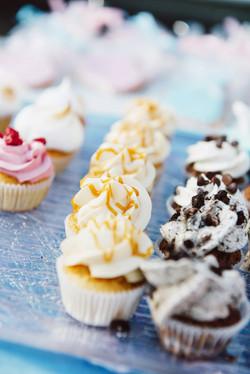 Cupcakes gourmands pour le buffet