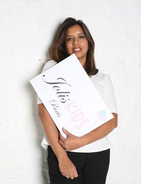 Nathalie la fondatrice de JOLIS KIDS
