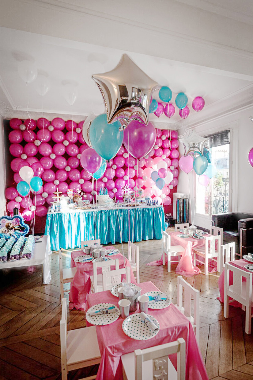 Decor d'anniversaire Princesse