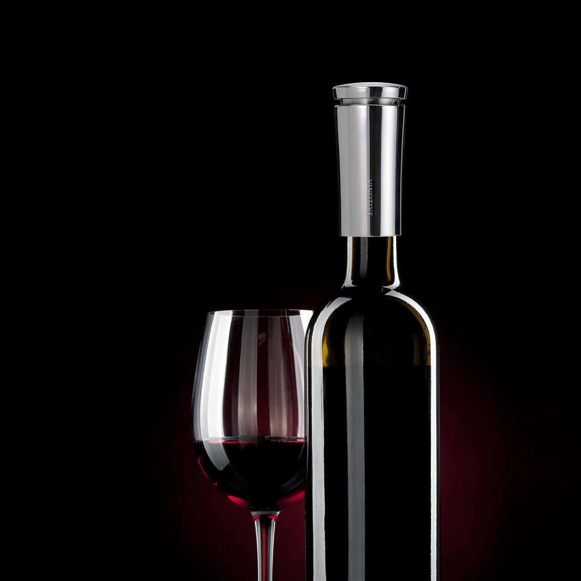 Vinaer Wine Aerator Bottle-Glass