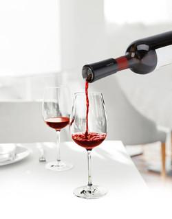 VINAER Wine Aerator Black Pour