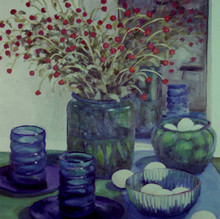 Still Life in Blue and Green