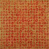 """Untitled (1/2"""" Grids and Circles)"""