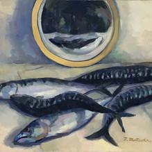 Still Life of Mackerel