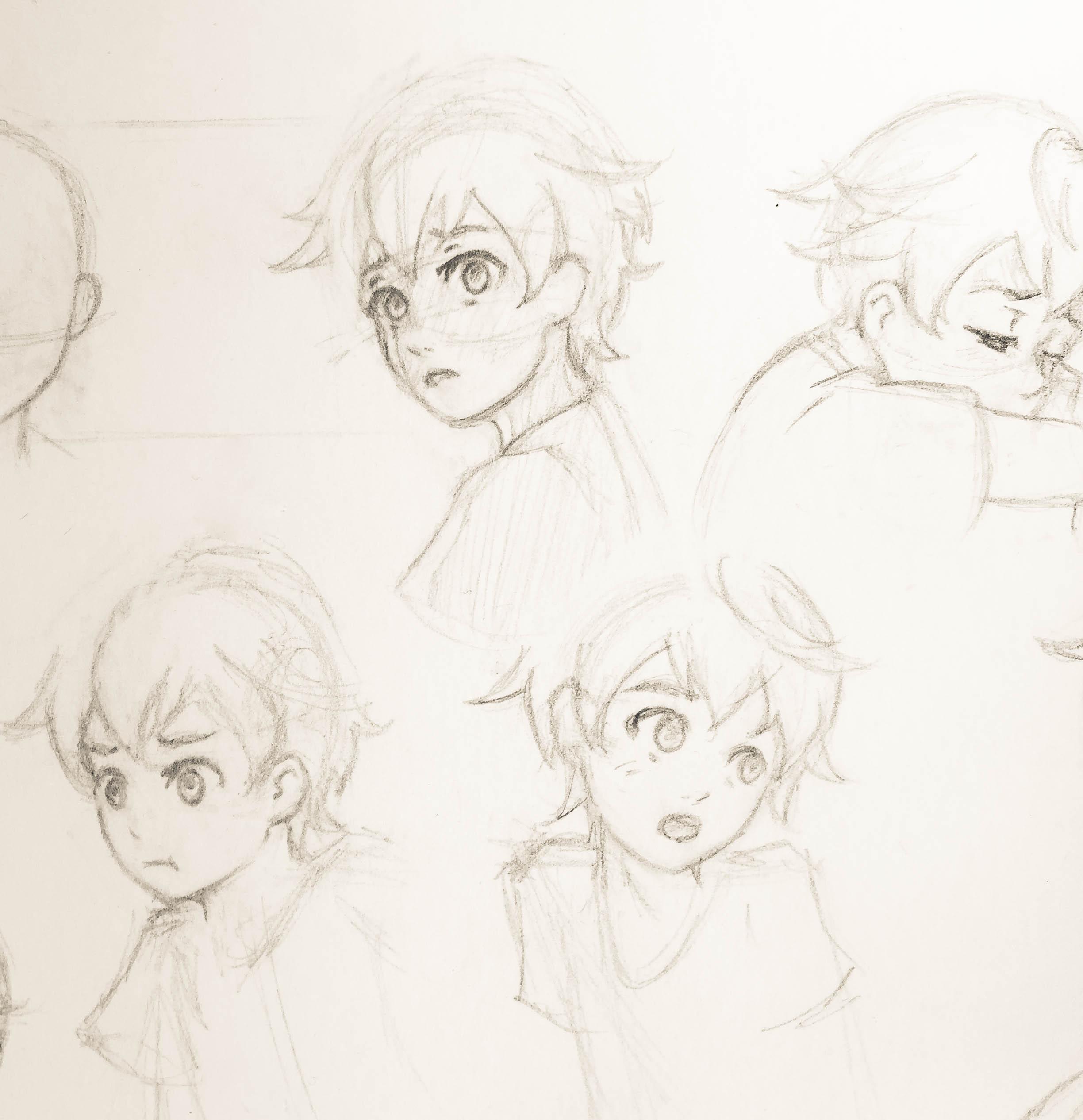 Ryuu Character Designs