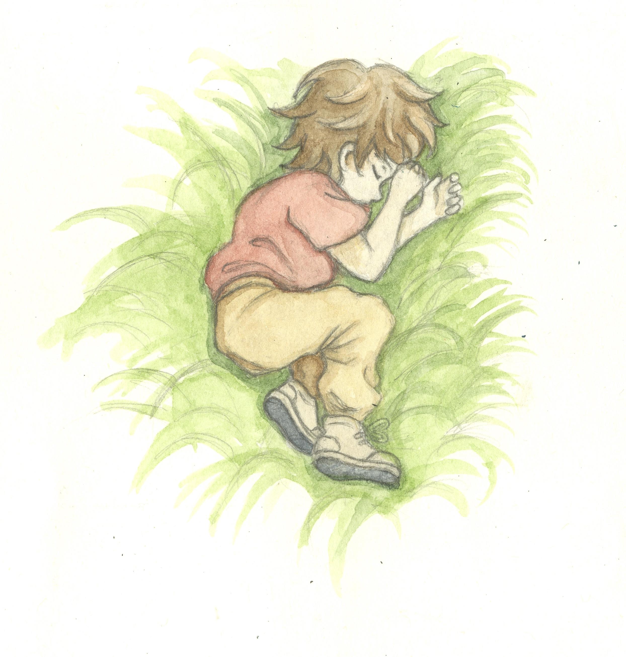 Ryuu Sleeping
