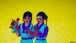 Petites filles à l'école de Choglamsar