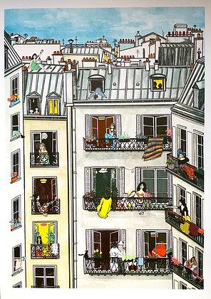 Parisiennes confinées (2)