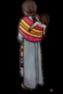tibétaine tibetan girl woman baby traditionnal dress robe tablier feutre promarker carnet voyage fête party dalai lama