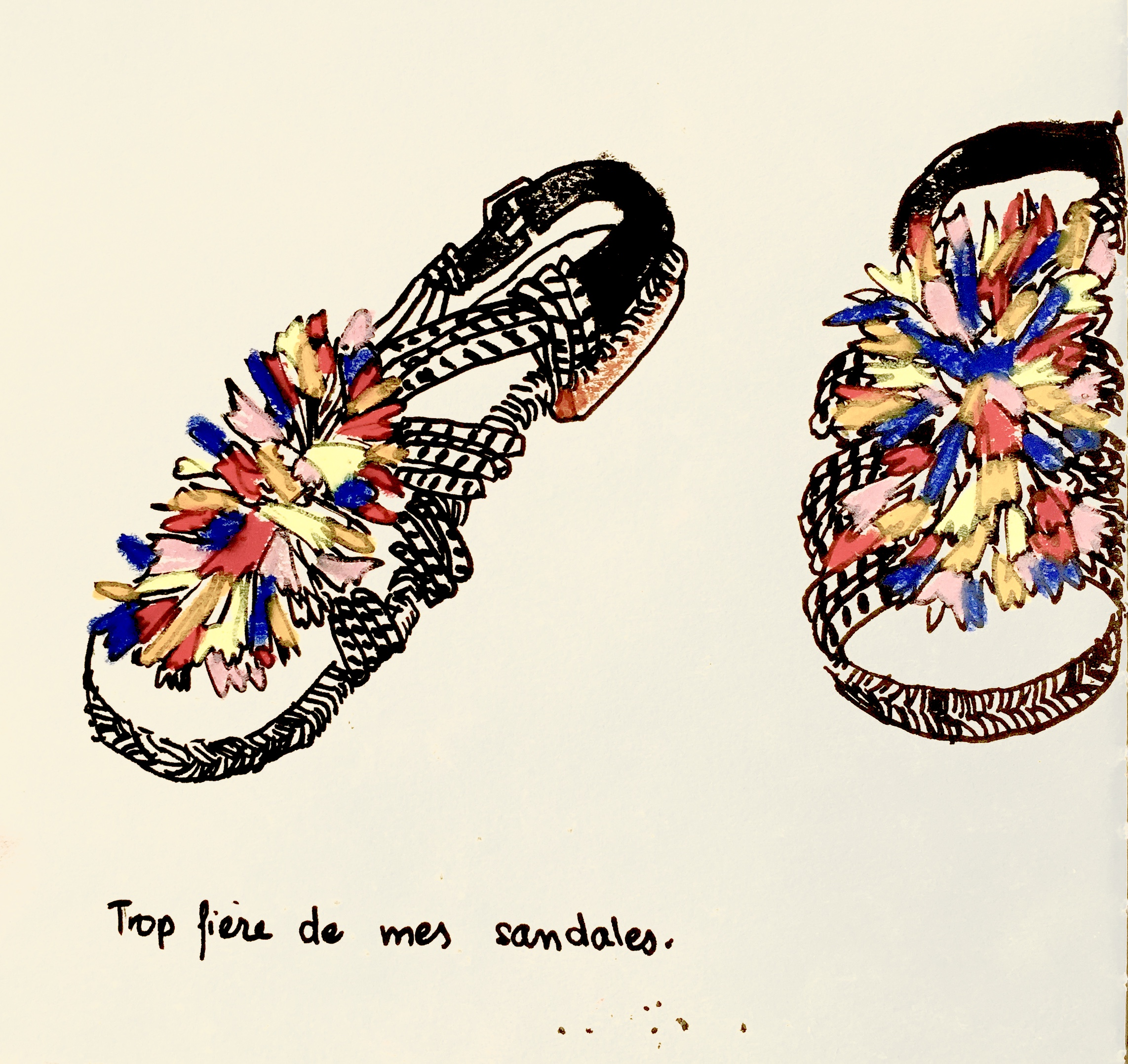 Mes sandales