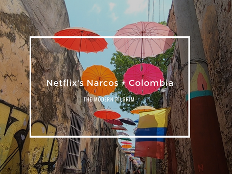 Netflix's Narcos ≠ Colombia