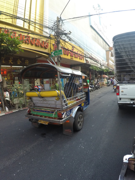 """Everything Goes"" describing [Bangkok] in two words"