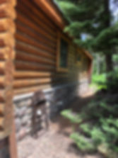 Log cabin Refiishing, Log cabin Staining, Log cabin Blasting, Log cabin Restoration, Log cabin Sealing