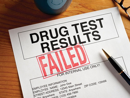 I've failed a workplace drug test, but I think it's wrong, what do I do?