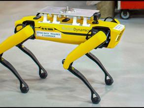 Un Cane Robot Aiuta Riorganizzare gli Impianti Ford — IT FR EN (video EN)