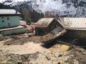 A Ponte di Legno l'acquedotto comunale ha subito dei danni. (video)