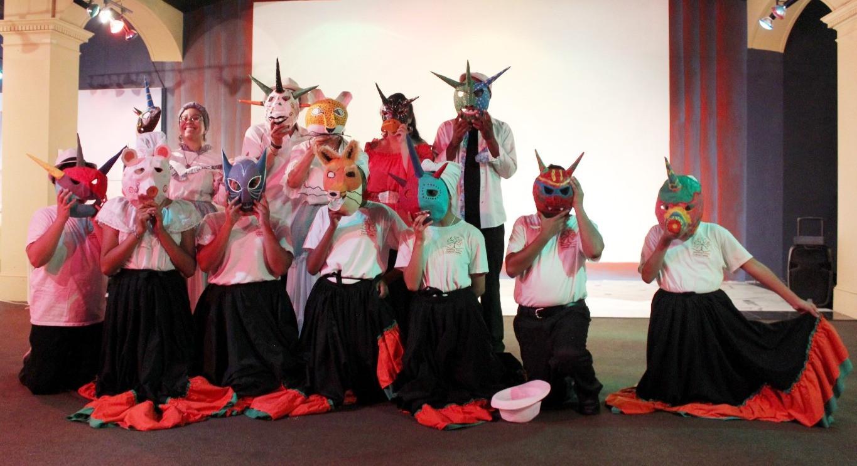 Vejigante masks making workshop