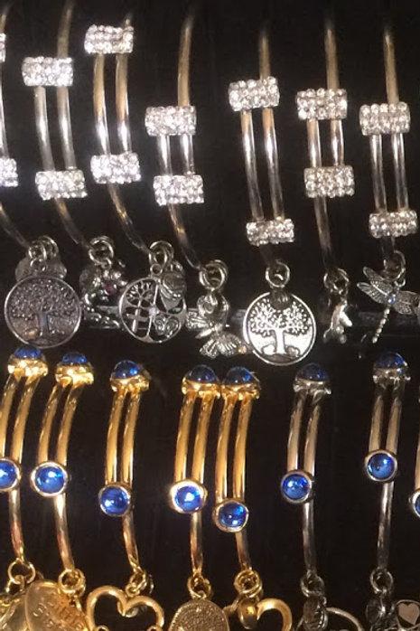 Gold  or Silver metal bracelet 2