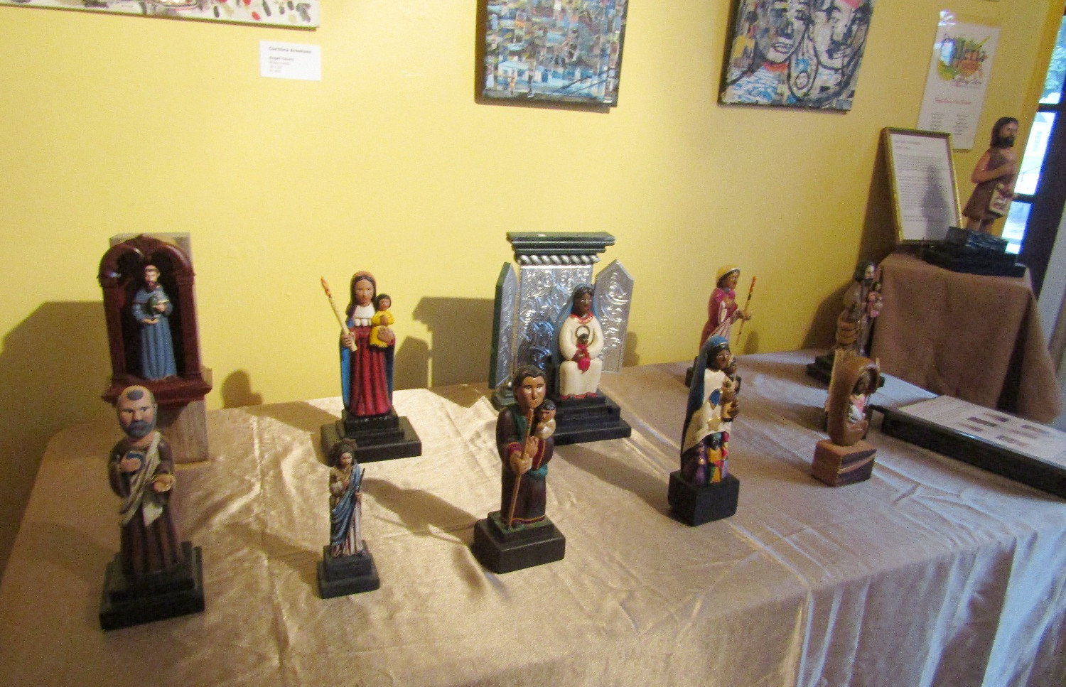 Wood Carving travel exhibit