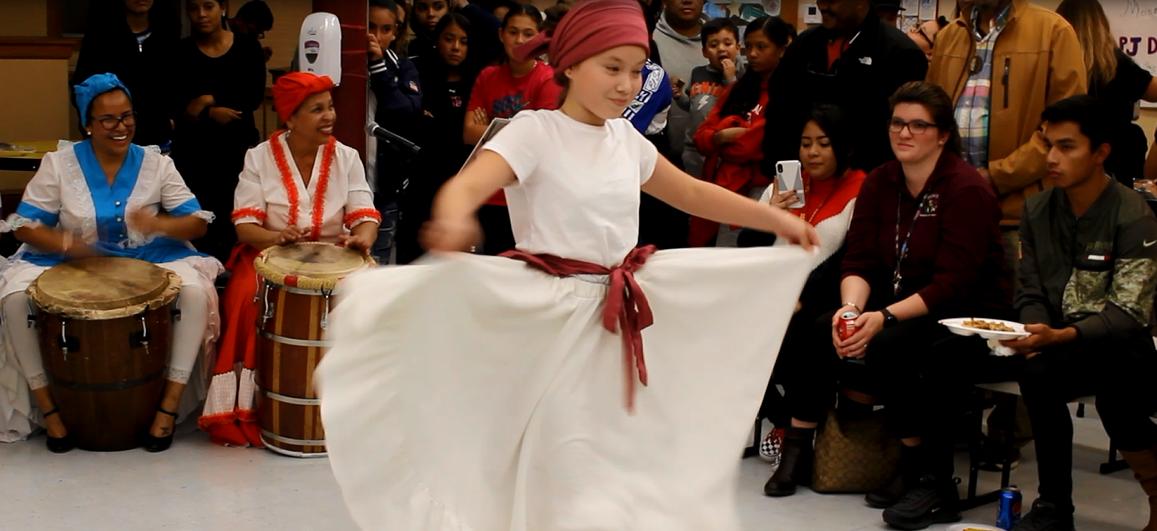 Bomba or Plena dance