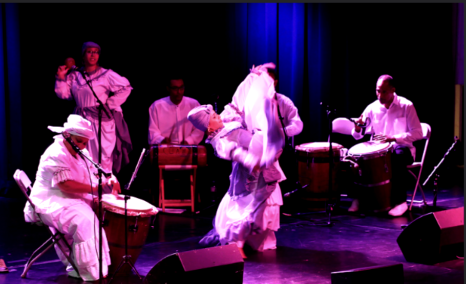 Performance with Yoruba 2