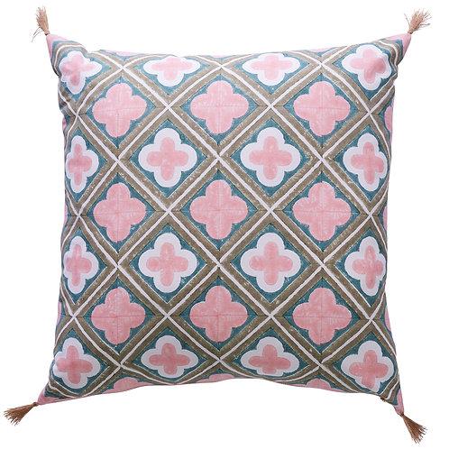 Pink Clover Cushion