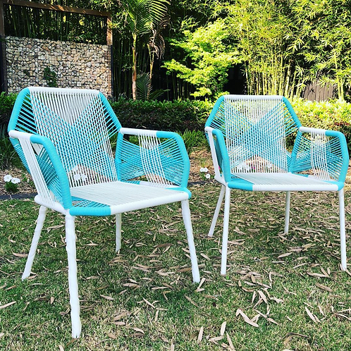 Turquoise Outdoor Chairs