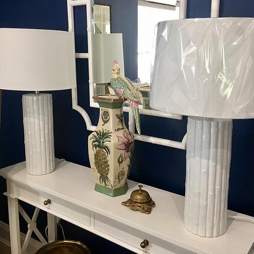 Tropical Bird Vase