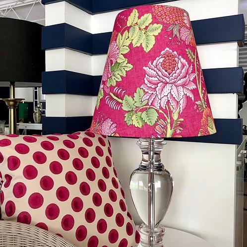 Pink & Lucite Lamp