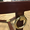 Thumbnail: Leather & Brass Coffee Table