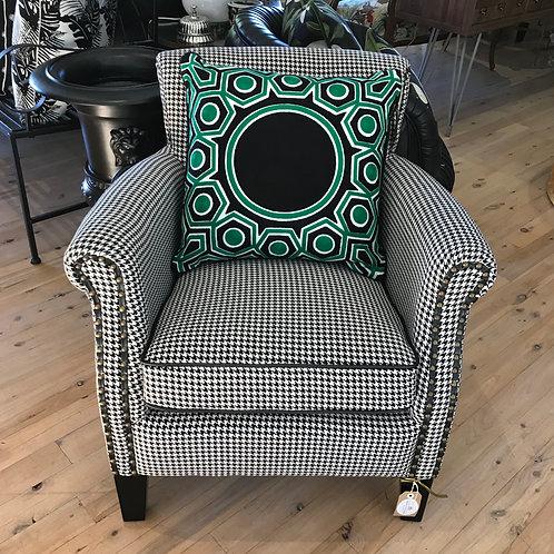 Houndstooth Armchair