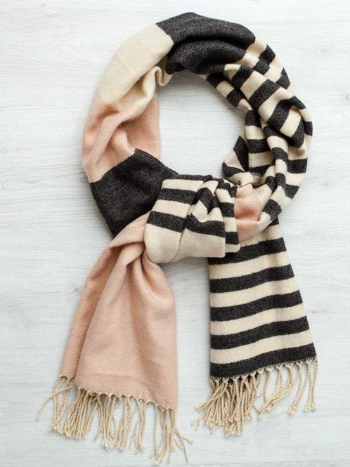 Gingerlilly Pink Stripe Scarf