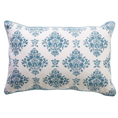 Blue & White Chesterfield Cushion