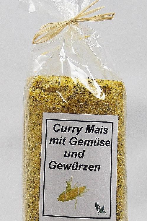 Curry Mais mit Gemüse und Gewürzen