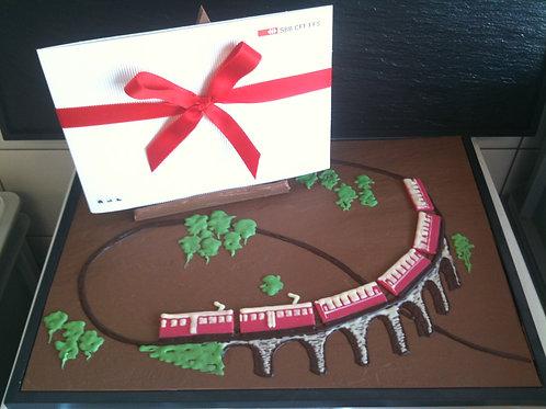 Schokoladen Schaustücke 90.-