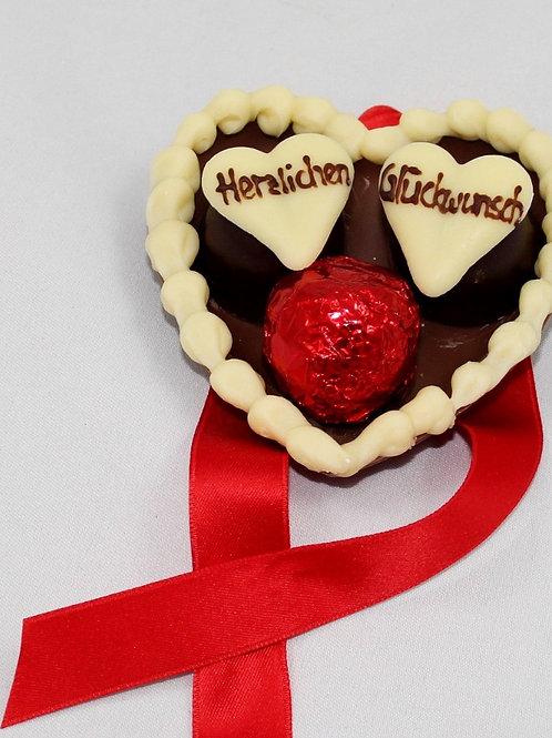 Schokoladen-Herz 3