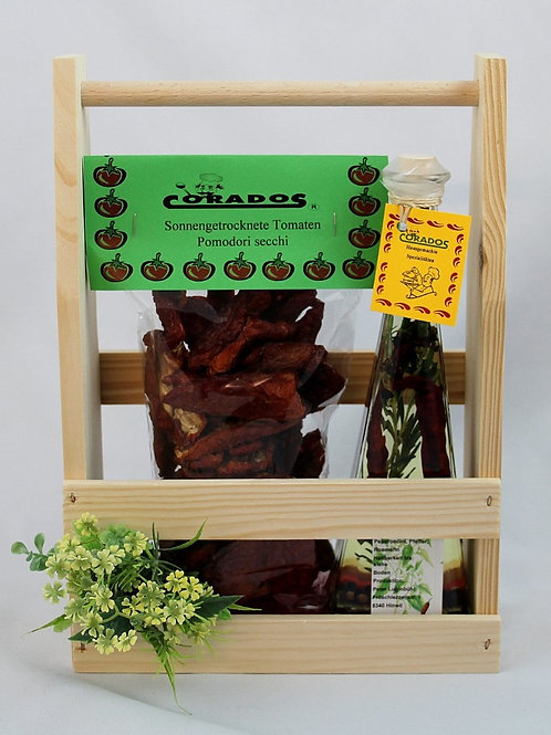Schenkidee Holzbehälter